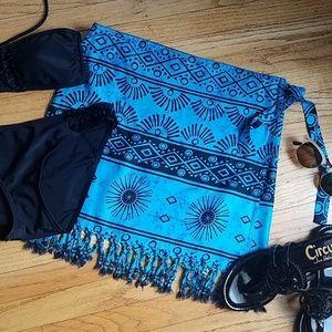 NEW Sarong Swim Coverup Skirt